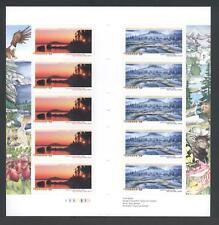 """CANADA GUTTER PANE 2225b 10 x 52c NATIONAL PARKS, SELLING AT """"FACE"""""""