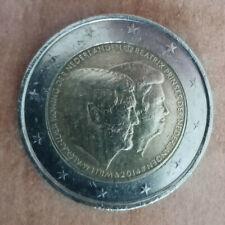2 euro Olanda 2014 Commemorativo Guglielmo Beatrice
