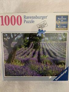 "Ravensburger ""Lavender Fields"" 1000 Piece Puzzle Sealed"