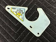Star Trek Next Generation Pinball Machine Playfield Slingshot Plastic 31-1803-7