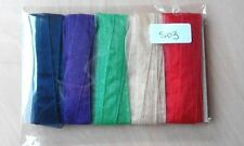 Organza Ribbons & Ribboncraft Sheer 11-15 Length (Mtrs/Yds)