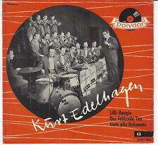 "Kurt EDELHAGEN - Lilli Boogie / 56er POLYDOR 7 "" EP, stitched Cover, 20024 EPH !"