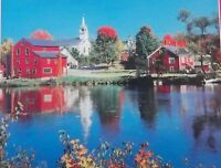 Riverside Village Jigsaw Puzzle - Rainbow Works - 500 Pieces - Complete