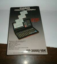 One NEW Vintage CASIO SF-3000 Digital Diary - Calculator - In Sealed Package