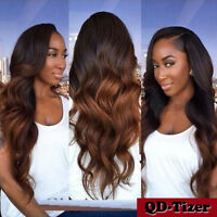 Hot Brazilian Remy Human Hair Wigs Ombre Lace Front Wigs Glueless Full Lace Wig
