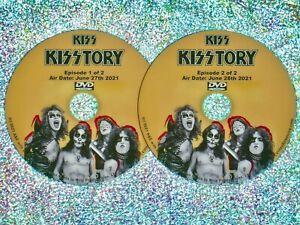 KISS KISStory 2 DVD Set (2021 Documentary) Paul Stanley Gene Simmons Heavy Metal