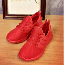 Fashion Women's Casual breathable Sport sneakers running shoes-Red