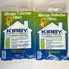 New (2) Kirby Allergen Reduction Filters, 204811 (6 pack) Genuine Kirby
