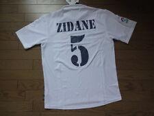 Real Madrid #5 Zidane 100% Original Centenary Jersey 2001/02 Home M Still BNWT