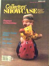 Collectors' Showcase Magazine Popeye Collectibles September 1992 081417nonrh2