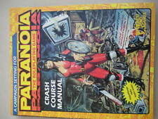 PARANOIA ROLEPLAYING BOOK-CRASH COURSE MANUAL-BY WEST END-VGC.VIEW