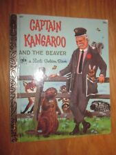 1973 Captain Kangaroo and the Beaver A LITTLE GOLDEN BOOK by Carl Memling