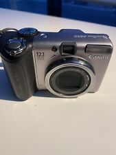 Canon PowerShot A650 IS 12.1 MP Digital Camera working condition TESTED