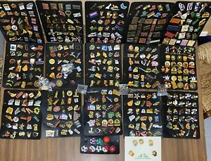lot pin's collection