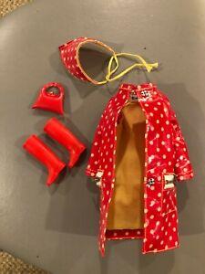 Polka Dots and Raindrops #1255 1966 vintage Francie outfit