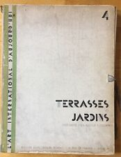 Modernist TERRASSES ET JARDINS Le Corbusier Van Der Rohe Jeanneret Chareau Deco