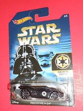 HOT WHEELS STAR WARS PROTOTYPE H-24 GALACTIC EMPIRE 6/8 SHIPS FREE!