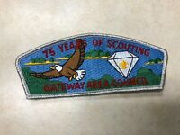 Gateway Area Council SA-33 75yrs of Scouting CSP