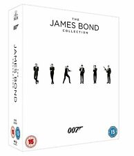 The James Bond 23 Films Collection Blu-ra  New with UV Code for Every Film