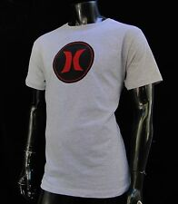 Hurley Surfing Classic Gray Color Circle Logo Mens T shirt Size Small HRL-79