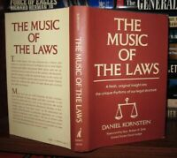 Kornstein, Daniel THE MUSIC OF THE LAWS  1st Edition 1st Printing