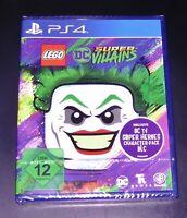 LEGO DC SUPER VILLAINS INKLUSIVE CHARAKTER PACK FÜR PS4 SCHNELLER VERSAND NEU
