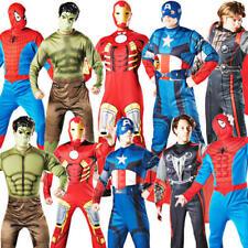Marvel Superhero Mens Fancy Dress Avengers Character Adults Halloween Costume