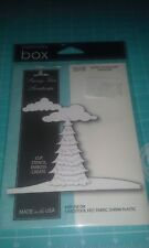 Memory Box inc  metal cutting die - Snowy Tree Landscape