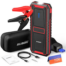 18000mAh 12V Car Auto Jump Starter Booster Jumper Box Power Bank Battery Charger