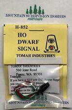 Tomar H-852 LED Illuminated Dwarf Signal HO Scale MODELRRSUPPLY  $5 coupon offer