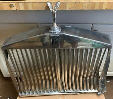 Rolls Silver Shadow II Grill including badge and mascot. NO RESERVE - DAMAGED!