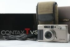 """""""Near Mint in Box"""" CONTAX TVS 35mm Point & Shoot Film Camera Set From Japan #070"""