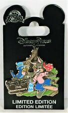 Disney Splash Mountain 25th Anniversary Brer Rabbit 3-D Slider Pin LE 1500 NEW