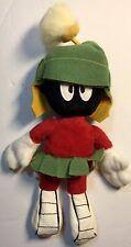 "New listing Vintage 11"" Marvin The Martian Bean Bag Plush Toy Warner Bros Studio Store 1998"