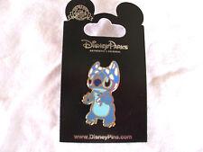 Disney * STITCH w/ BIKINI TOP on HEAD - SUPERHERO * New on Card Trading Pin