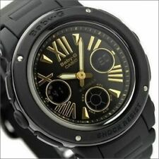 Casio Baby-G Black Gold Analog & Digital Water Proof Sports Watch