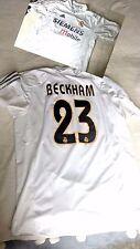 Real Madrid Beckham t shirt original tag M