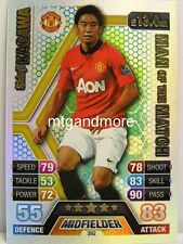 Match Attax 2013/14 Premier League - #392 Shinji Kagawa - Man of the Match