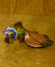 Oriental Figurine  #SO26140C TROPICAL FISH, NEW from our Retail Store, Mint.Box