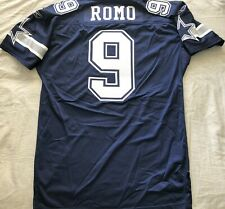 Tony Romo Dallas Cowboys 2007 authentic Reebok team issued stitched blue jersey