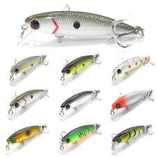 5PCS Fishing Fish Lure Floating Pencil Minnow artificial baits hook 6cm/4.5g