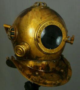 Boston Antique Engineering Anchor Morse Divers Diving Scuba Deep Sea Helmet Gift