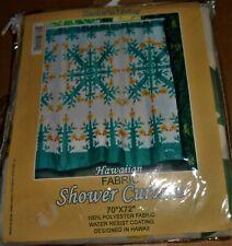 New listing New Vintage 70 x 72 Fabric Hawaiian Shower curtain Free Shipping