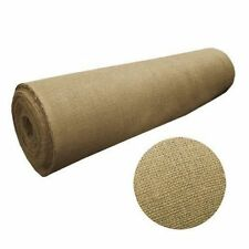 """Per Yards Burlap Fabric 60"""" Wide 100% Natural Jute Heavy Upholstery quality Usa"""