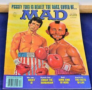 Vintage Mad Magazine, E.C. Pub. - #235, Dec. 1982 $1.00 - EF