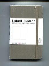 AGENDA # LEUCHTTURM 1917# BLANKO/PLAIN/BLANC #Nuovo-Brown 9x15 cm