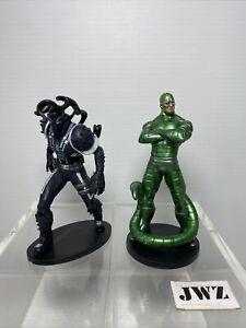 Marvel Figure Venom Agent Venom & Scorpion Disney approx 4 inch - Bundle