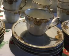Service à Café  Bernardaud Coquille Ventadour 1960 Porcelaine Limoges Coffee Cup