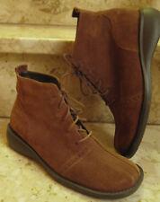 Neu piu di by servas Boots Stiefel Gr.36 3,5 Nubuk Leder Wildleder braun TOP