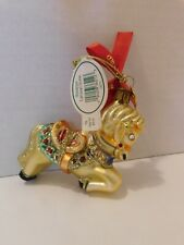Waterford Christmas Holiday Heirlooms Miniature Carousel Horse Ornament #130770
